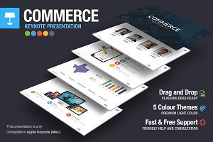 Commerce Keynote Template
