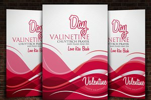 Valentines Day Flyer Templates