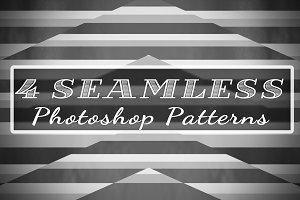 4 Seamless Line Patterns