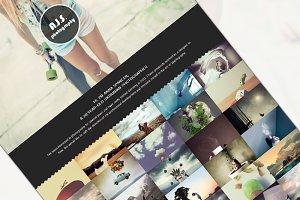 Photographer portfolio (HTML)