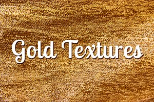 8 Gold textures, golden backgrounds