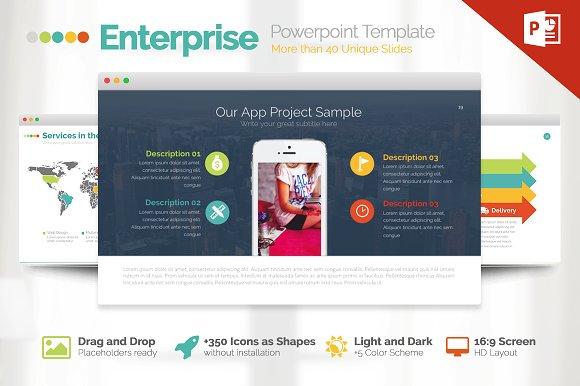 Enterprise | Powerpoint Template