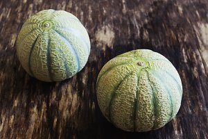 small striped melon
