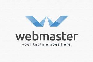 Web Master Logo Template