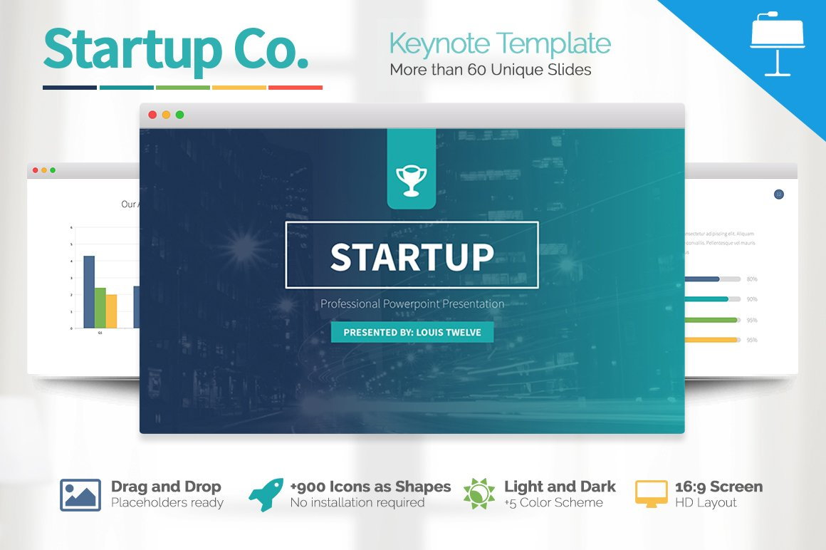Startup business keynote template presentation templates startup business keynote template presentation templates creative market cheaphphosting Images