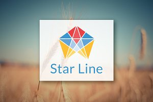 [68% off] Star Line - Logo Design