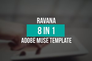 Ravana - 8 In 1 Muse Template