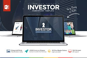 Investor Pitch Deck Powerpoint