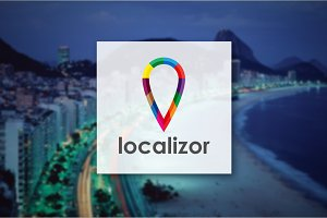 [68% off] Localizor - Logo Design