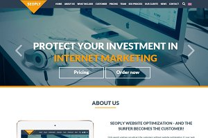 SEOply-SEO & Marketing HTML Template