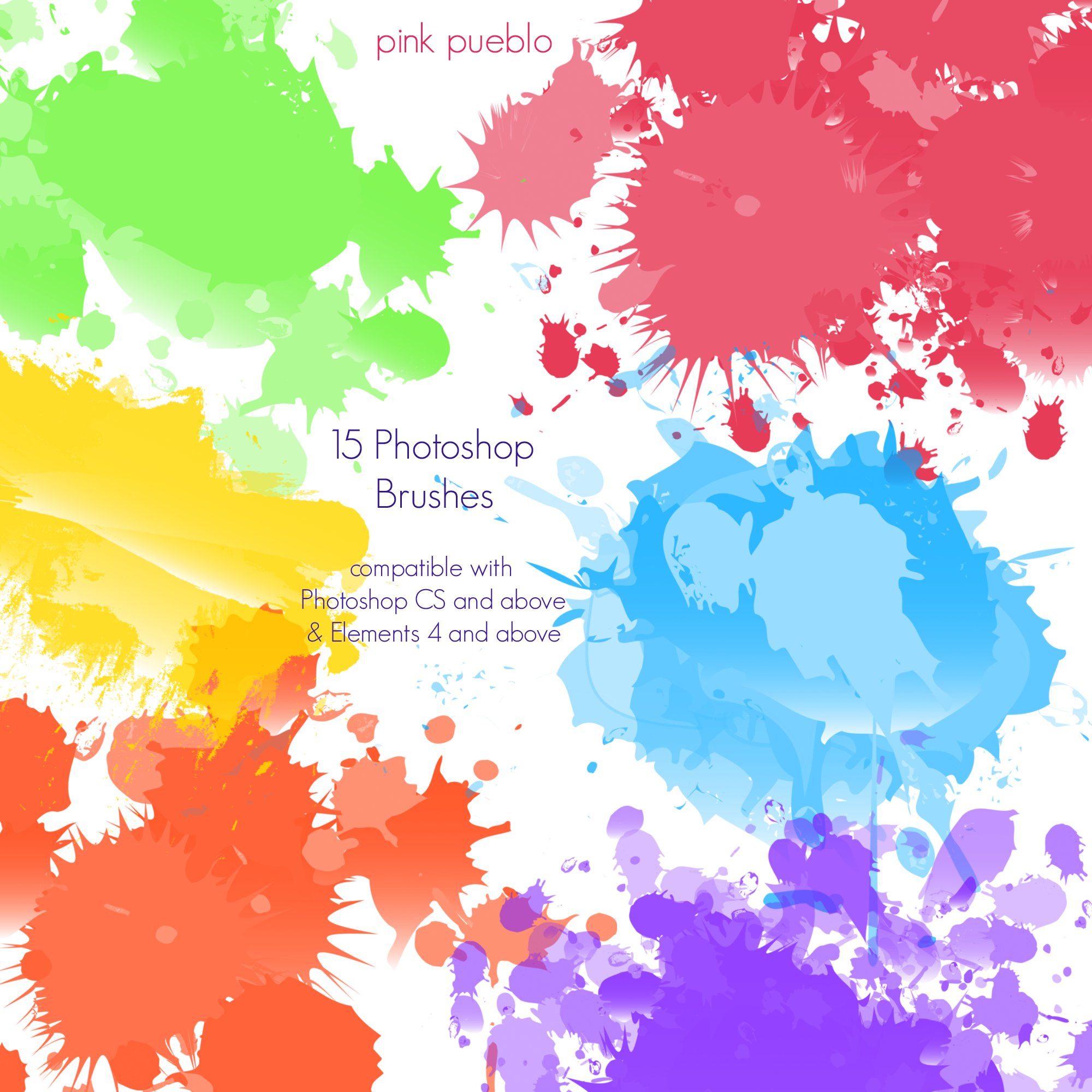 Paint Splatter Brushes for Photoshop 7 are Getting Released