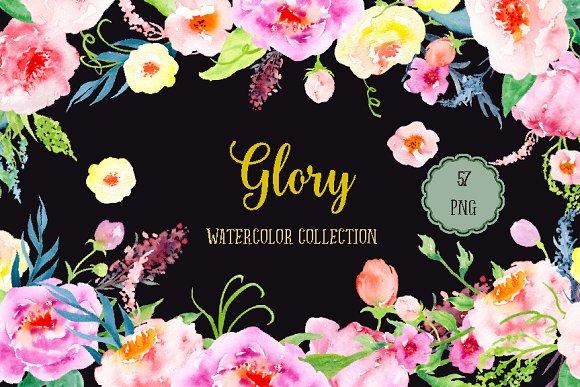 Watercolor Glory Bundle