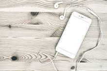 Digital phone with headphones
