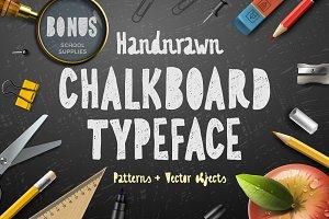 Chalkboard typeface