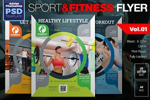 Sport & Fitness Flyer Vol.01