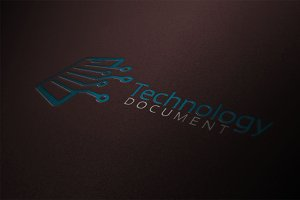 Technology Document Logo