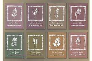 8 Herbal Posters