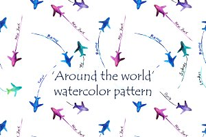 'Around the world' pattern