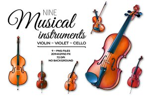 Nine Musical Instruments