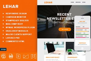 Lehar-Responsive Emailtemplate