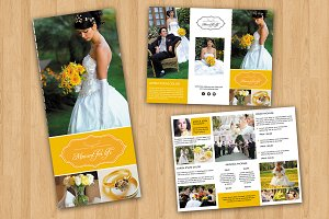 Wedding Photography Brochure-V376