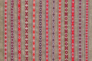 Ethnic textile pattern
