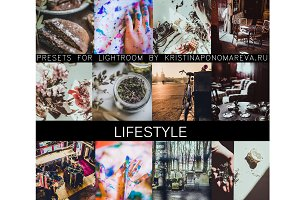 Lifestyle- 12 presets for LR