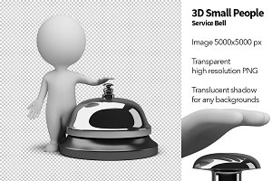 3D Small People - Service Bell