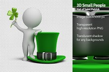 3D Small People - Saint Patrick