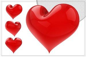 Heart 3D Render