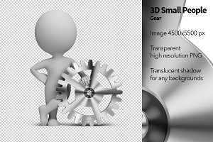 3D Small People - Gear