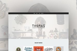 Logotype maker Portfolio (HTML)