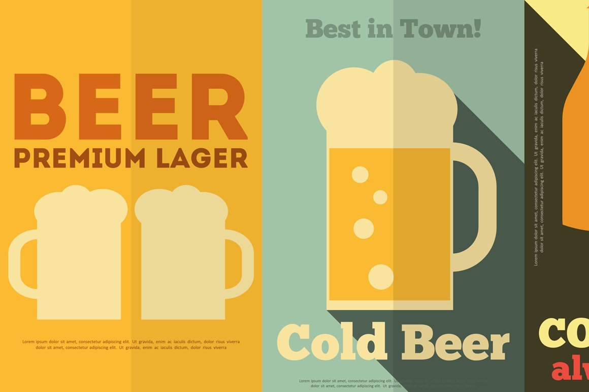 Beer Posters Illustrations Creative Market