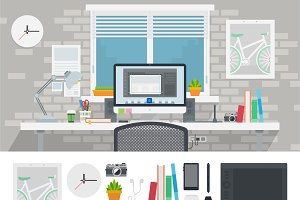 Designer workspace