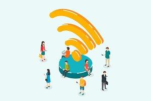 Public Wi-Fi zone