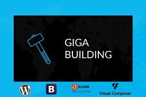 GigaBuilding Responsive Wordpress
