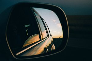 Car Mirror View