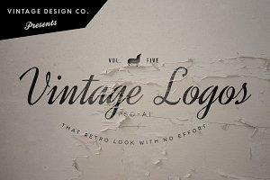 Vintage Logos - Volume 5
