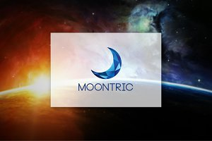 [68% off] Moontric - Geometric Logo