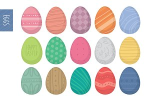 More than a dozen Easter eggs