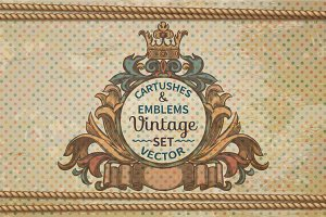 Set Cartushes amd Emblems