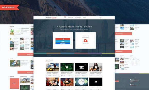 VideoCafe - Wordpress Video Template ~ WordPress Magazine Th ...