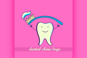 Dental icon. Stomatology