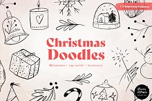Christmas Doodles and Wallpapers by  in Graphics