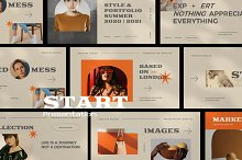 Start Google Slide Brand Urban by  in Presentations