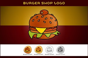 Burger Shop Logo