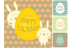Easter Cards Set