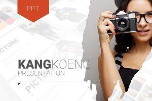 Kangkoeng PowerPoint Template