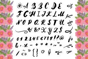№71 Vector font