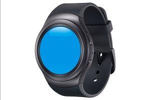 Samsung Gear S2 Black Mockup 1